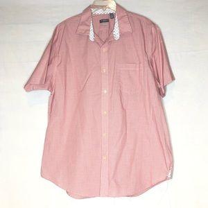 Red Van Heusen Polo Shirt